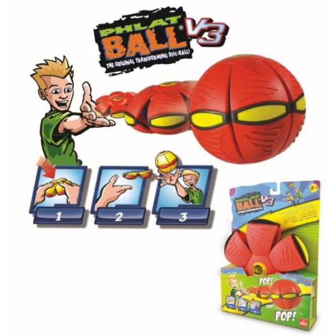 goliath-phlat-ball-classic-rouge